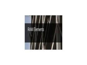 三维结构分析软件 Bentley RAM Elements CONNECT Edition 16.01 x64 破解版