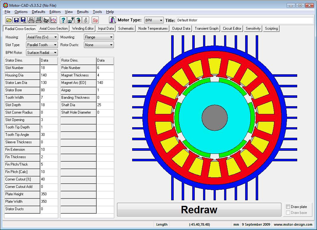 电机设计软件ANSYS Motor-CAD v 14.1.2 破解版下载