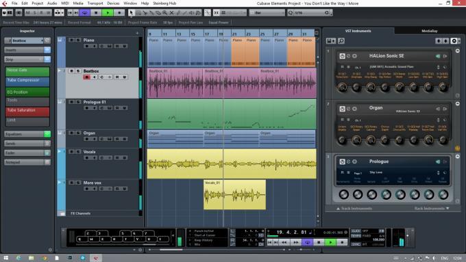 音频编辑软件 Steinberg Cubase Elements v11.0.30