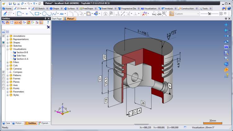 机械CAD系统 Missler Software TopSolid 2021 v6.22 x64 多语言