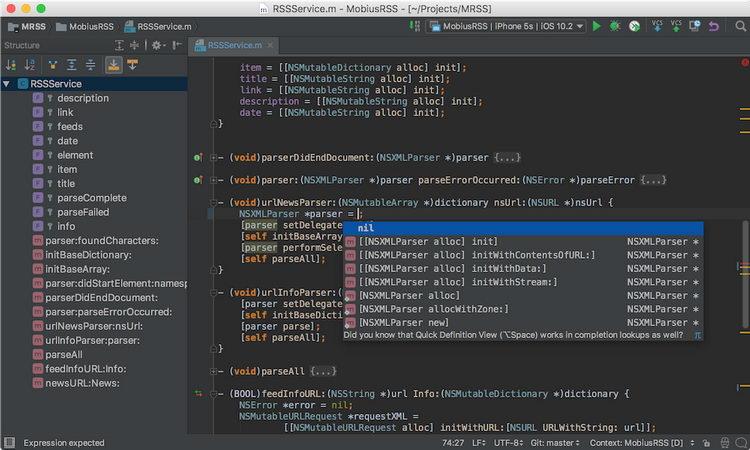 集成开发环境 JetBrains AppCode 2021.2.1 macOS