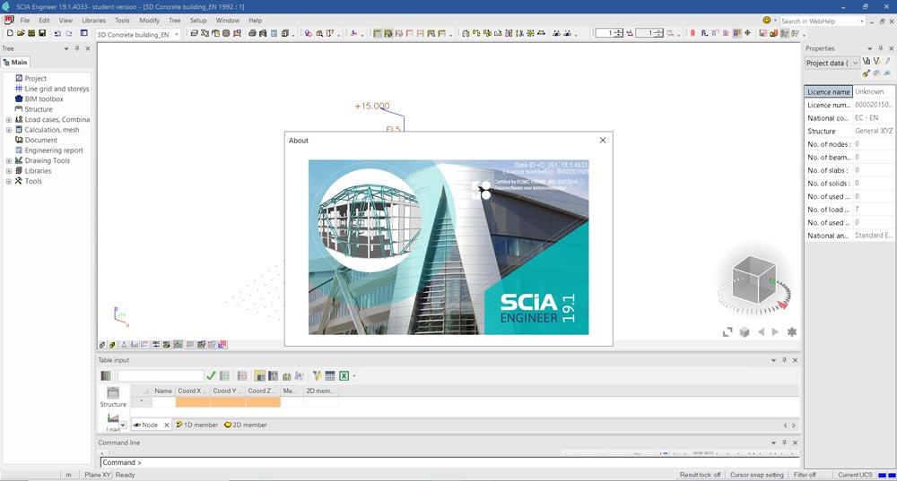 结构分析设计软件 Nemetschek SCIA Engineer 2019 v19.1.4033